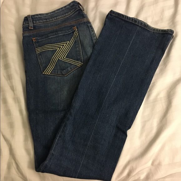 7 For All Mankind Denim - 7 For All Mankind - bootcut jeans